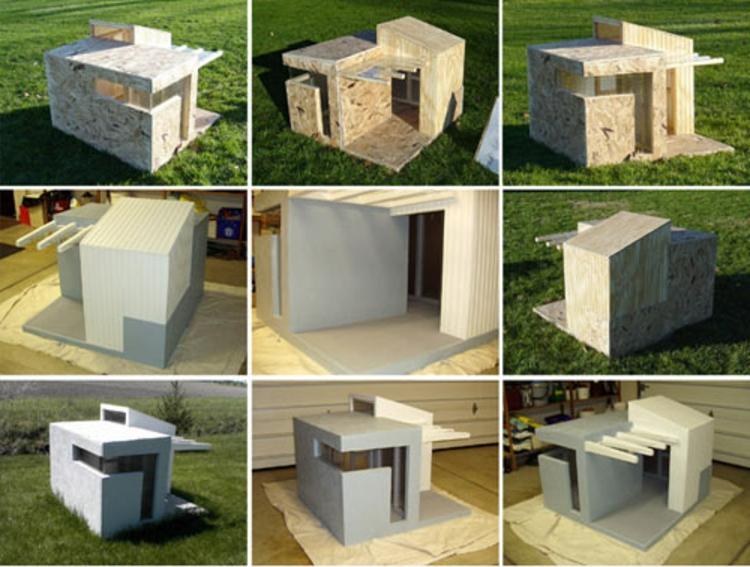 hunde-häushen-schlciht-edel-besonders-schick-modern-design-kube-form-rechteckig