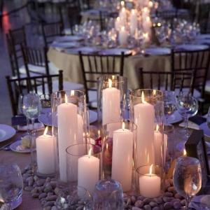 Hochzeitskerzen - romantische warme Licht !