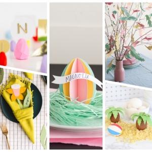Tischdeko zu Ostern - 155 frische DIY-Ideen