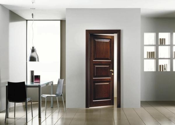 Holztür-Design-Idee