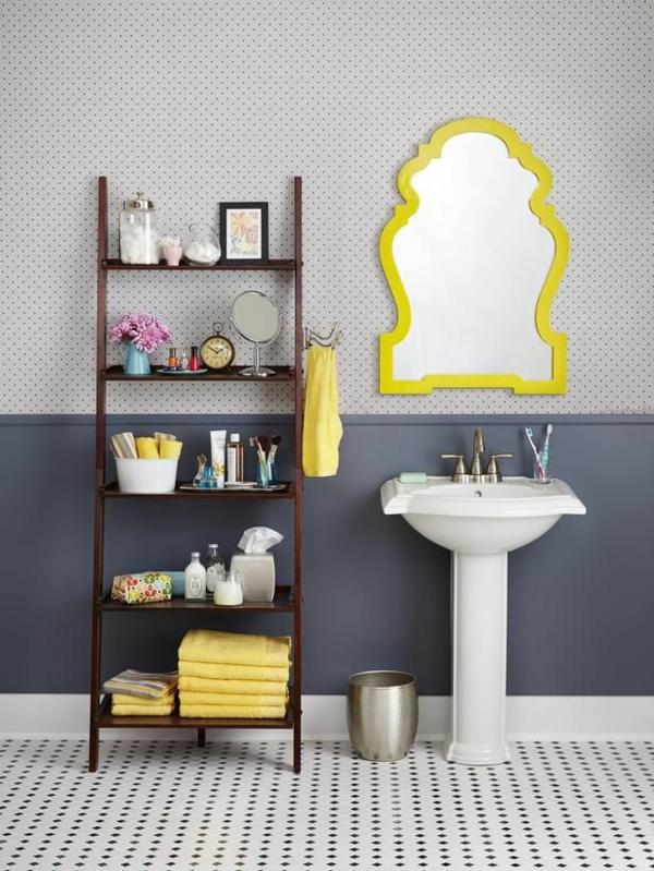 -toller-leiter-aus-holz--schöne-interior-design-ideen--