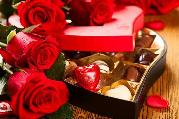 Romantische Berraschung Zum Valentinstag