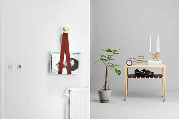 schwedisches Möbel - zwei kreative bilder