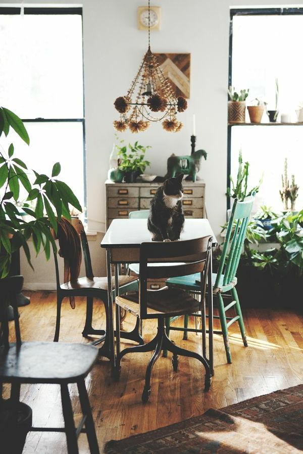 vintage-esszimmer-einrichten-schöne-und-moderne-einrichtungsideen