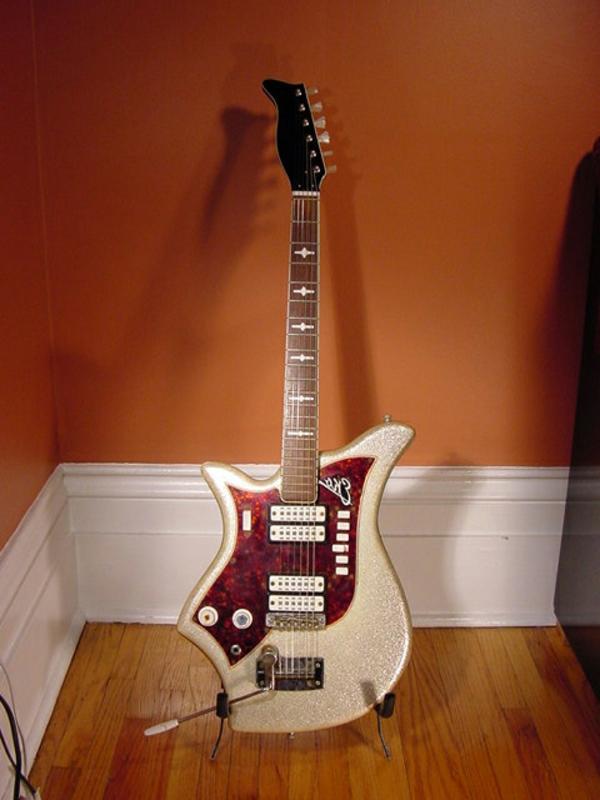 vintage gitarren - super tolles design