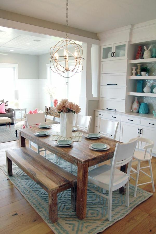 vintage-interior-design-ideen -design-esszimmermöbel -wohnideen-