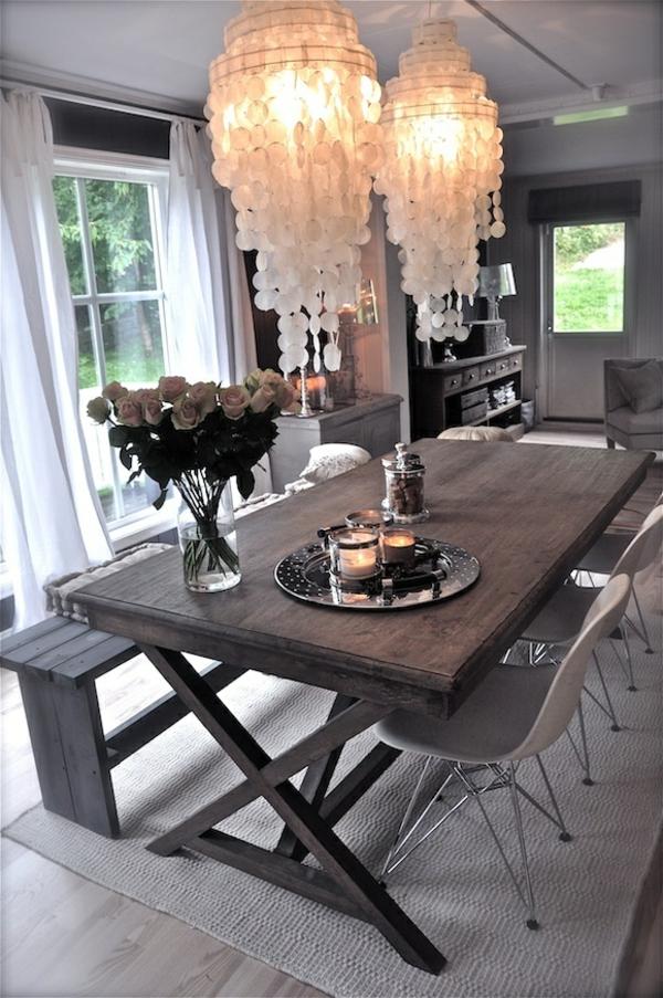 vintage-interior-design-ideen -design-esszimmermöbel -wohnideen