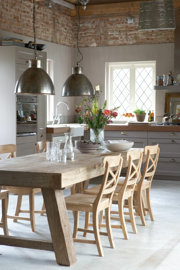 vintage--interior-design-ideen -design-esszimmermöbel -wohnideen