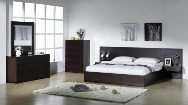 schlafzimmer wanddeko fantastische birkenstamm deko. Black Bedroom Furniture Sets. Home Design Ideas