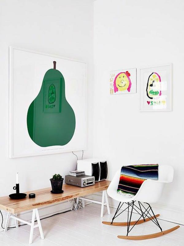 weiße-designer-stühle-schaukelstühle-mit-schönem-design