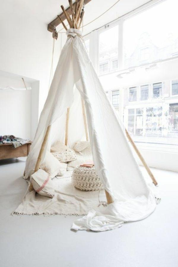 Einrichtungsideen für das Kinderzimmer – wunderschönes Zelt!