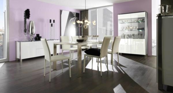 wei-es-esszimmer-möbelset-esszimmerstühle-esszimmertisch-design-ideen