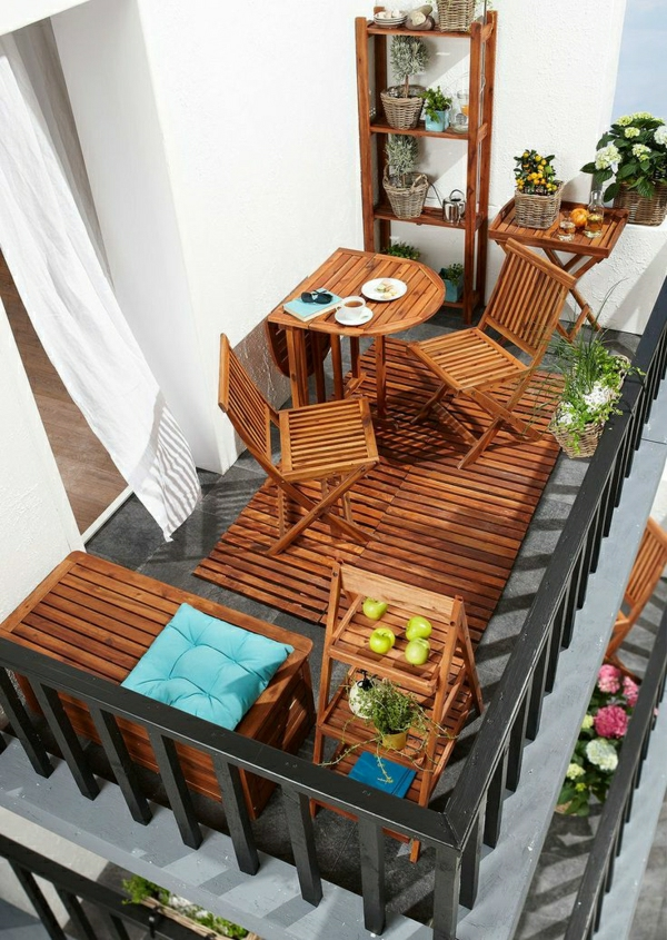 wundersch ner balkon deko ideen zur inspiration. Black Bedroom Furniture Sets. Home Design Ideas