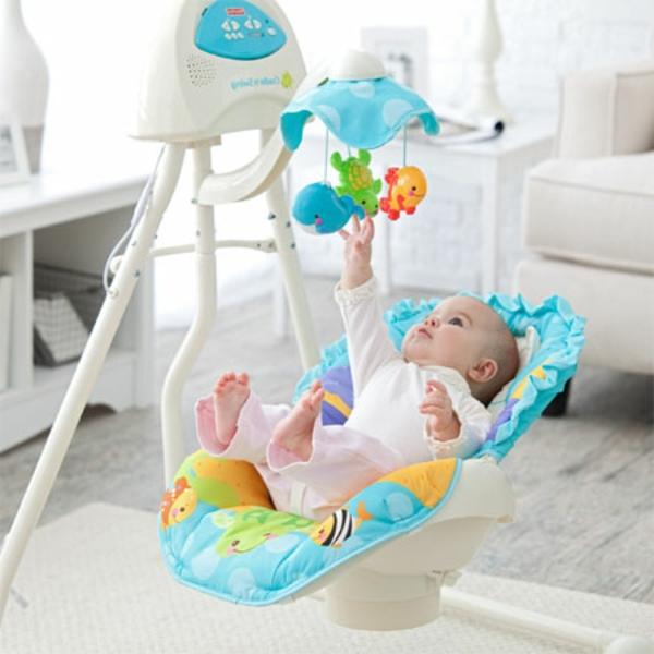 wunderbare-blaue-schaukel-für-den-innenbereich-super-tolle-wohnideen-babyschaukel