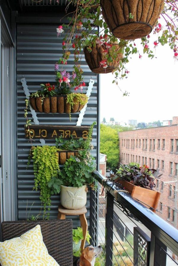 wunderbare-deko-mit-vielen-grünen-balkonpflanzen