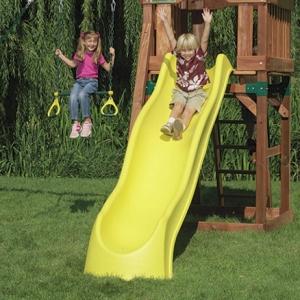 Rutsche - ein Lieblingsspielgerät der Kinder !