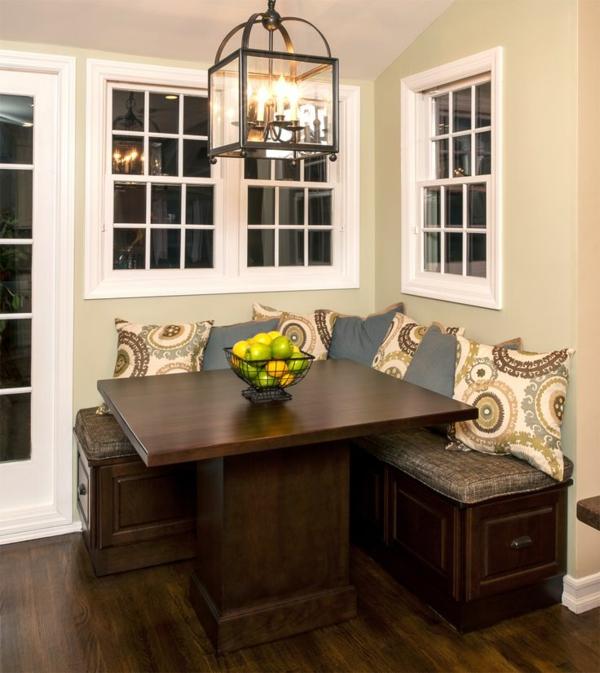 wunderbares-interior-design-ideen-sitzbank-holz-im-esszimmer