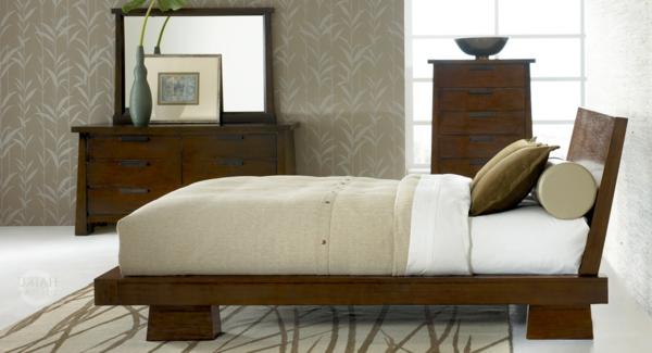wunderschöne-asiatische-betten-modernes-schlafzimmer- ein sehr schönes und cooles bild