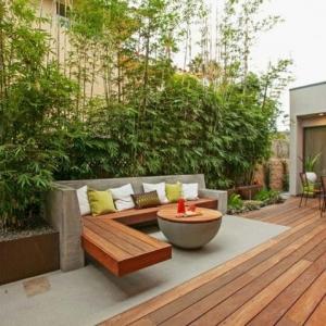 Sitzecke im Garten - Relax im Grünen!
