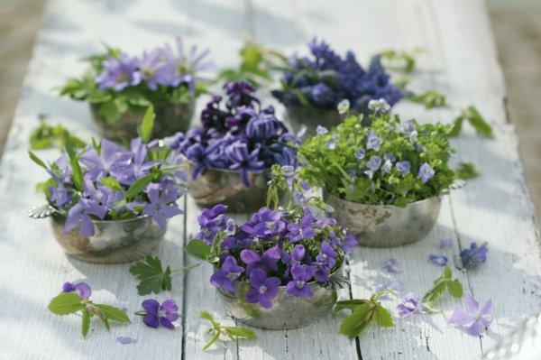 Tischdeko frühling  Atemberaubende Tischdekoration zum Frühling! - Archzine.net