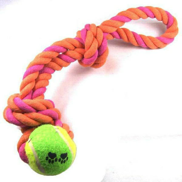 Teeth-cleaning-rope-and-tennis-ball-pet-dog-toys-cat-toy-V7230