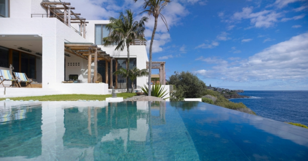 Waterfront-House-Australia-Infinity-Pool-schwimmbecken-design-idee-infinity-pool-