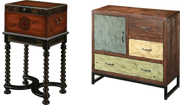 attraktiv-gestalteter-und-schön-aussehender-vintage-tisch-zwei-modelle