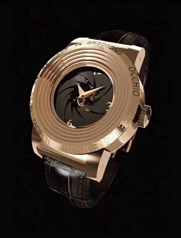 außergewöhnliches-design--leder- armbanduhr-herren-
