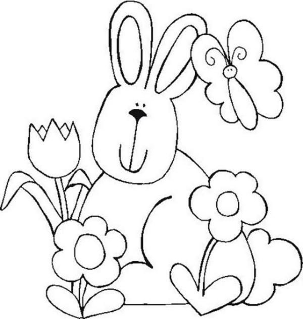 Atemberaubend Frühlingsblumen Und Schmetterlinge Malvorlagen Fotos ...