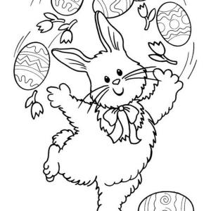 33 coole Ausmalbilder von Ostern zum Drucken!