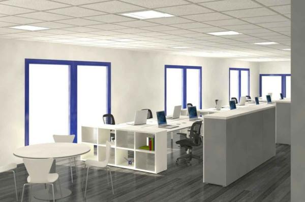 Büro modern einrichten  Büroraum gestalten: 52 coole Ideen! - Archzine.net
