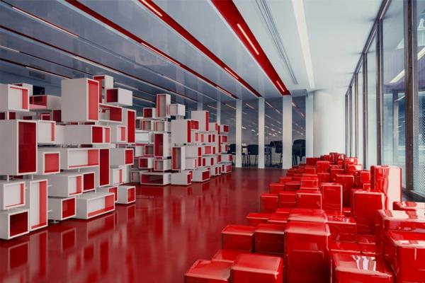 büroraum-gestalten-rote-akzente-im-zimmer