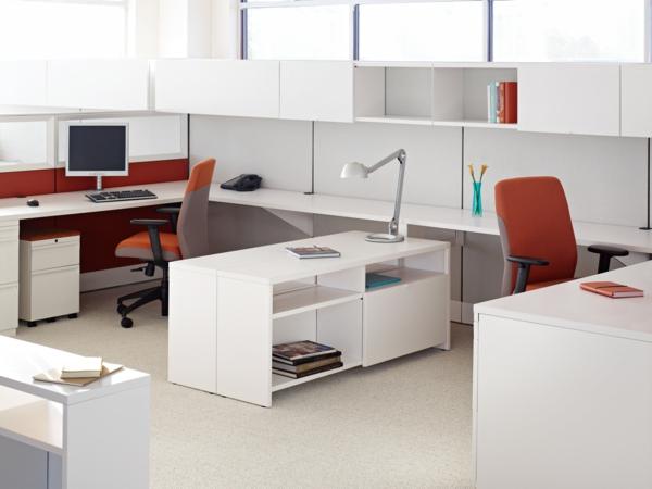 büroraum-gestalten-weiße-ausstattung-schönes-aussehen