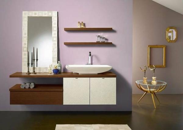 badezimmer-hölzerne-möbel-gemütliche-gestaltung