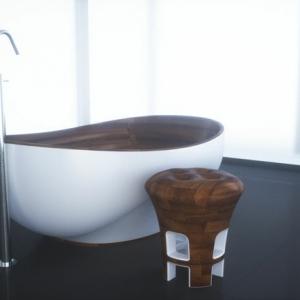 32 moderne Designs von Badezimmer Hocker!