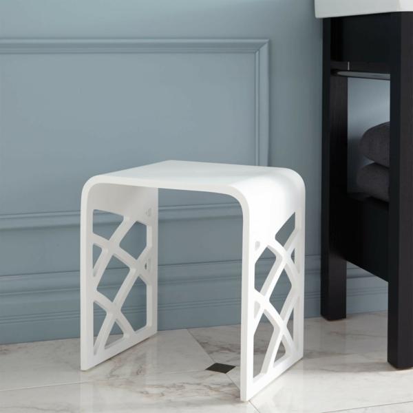 badezimmer-hocker-tolles-weißes-modell