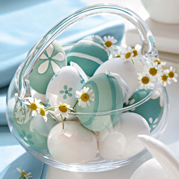 Tischdeko zum Ostern - 70 frische Ideen !