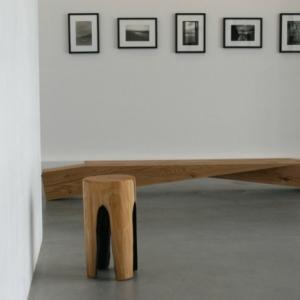 Baumstamm Hocker: eine kreative Einrichtungsidee!