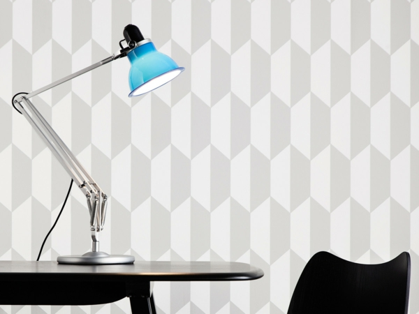 blaue-moderne-lampen-mit-coolem-design-beleuchtung