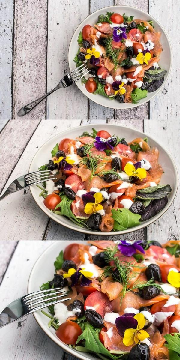 blumendeko-für-die-salate-blumen-zum-essen