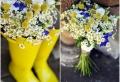 Gänseblümchen als wunderschöne Blumendekoration!