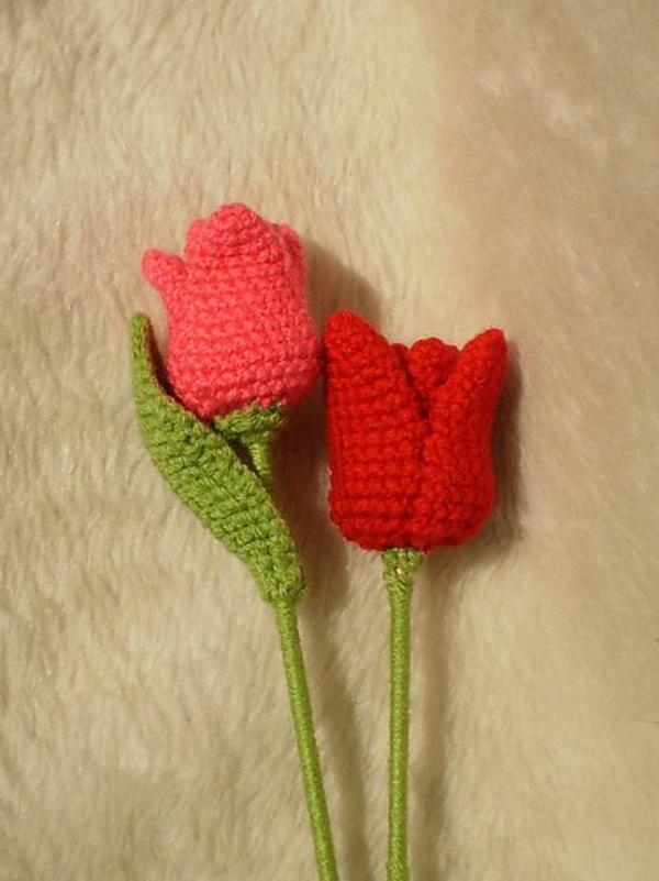 blumendeko-häkeln-wunderschöne-kreative-häkeleien-blumen--tulpen-häkeln