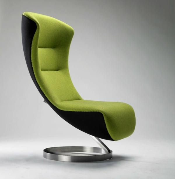 Coole Designer Möbel Grüner Sessel