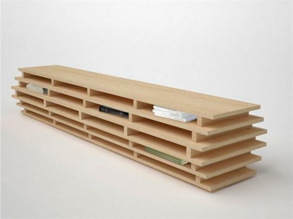coole-designer-möbel-hölzernes-modell