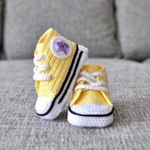 Babyschuhe häkeln - 100 wunderschöne Ideen!
