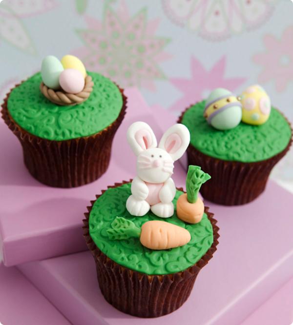 cupcakes-zum-ostern-verzieren
