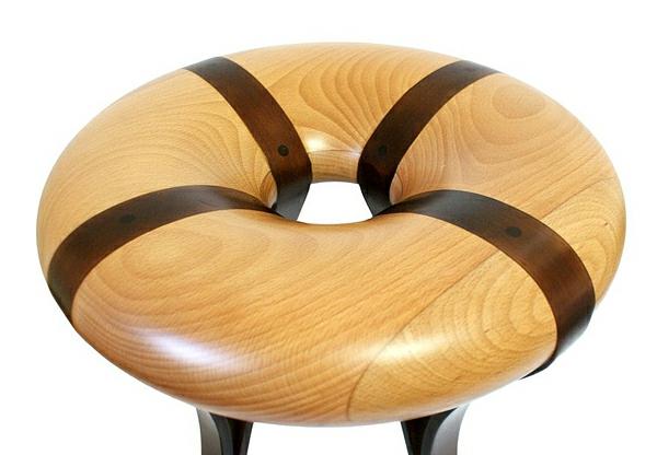designer-hocker-rundes-schönes-modell