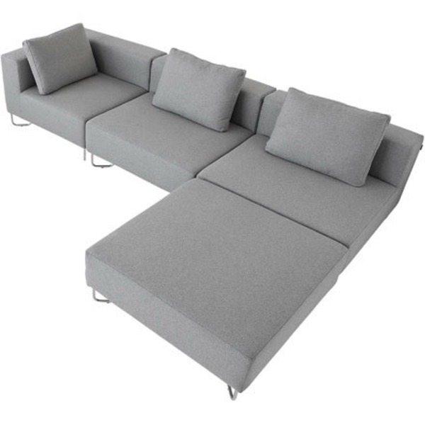ecksofa mit hocker 28 moderne designs. Black Bedroom Furniture Sets. Home Design Ideas