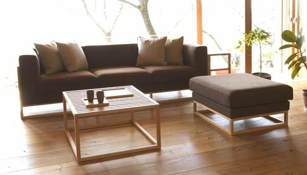 Wohnzimmer sitzkissen hocker for Indisches sofa
