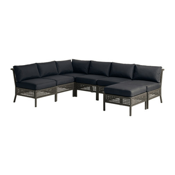Ecksofa mit hocker 28 moderne designs for Eckcouch mit hocker